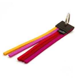Not the girl who misses much Sleutelhanger Tassel -  True Colors Rood - 3 cm x 17 cm