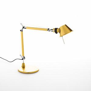 Artemide Tolomeo Micro tafellamp | goud
