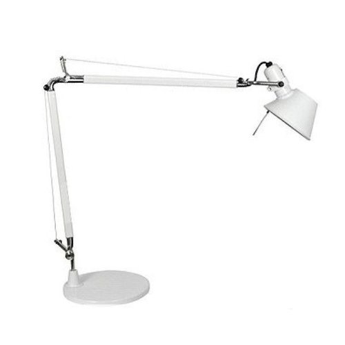 Artemide Tolomeo Micro tafellamp | gepolijst wit