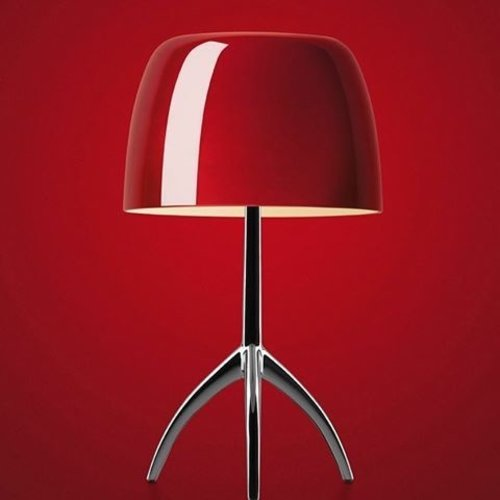 Foscarini LUMIERE LARGE HALUMINIUM/CHERRY ON/OFF