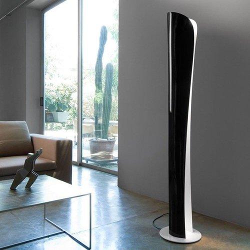 Artemide Cadmo floor LED 2700K wit/zwart