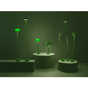 Zero Zero Curve Floor L 150cm 20cm gals Green