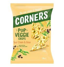 Corner Pop Corners Pop Veggie Sour Cream & Onion 85g