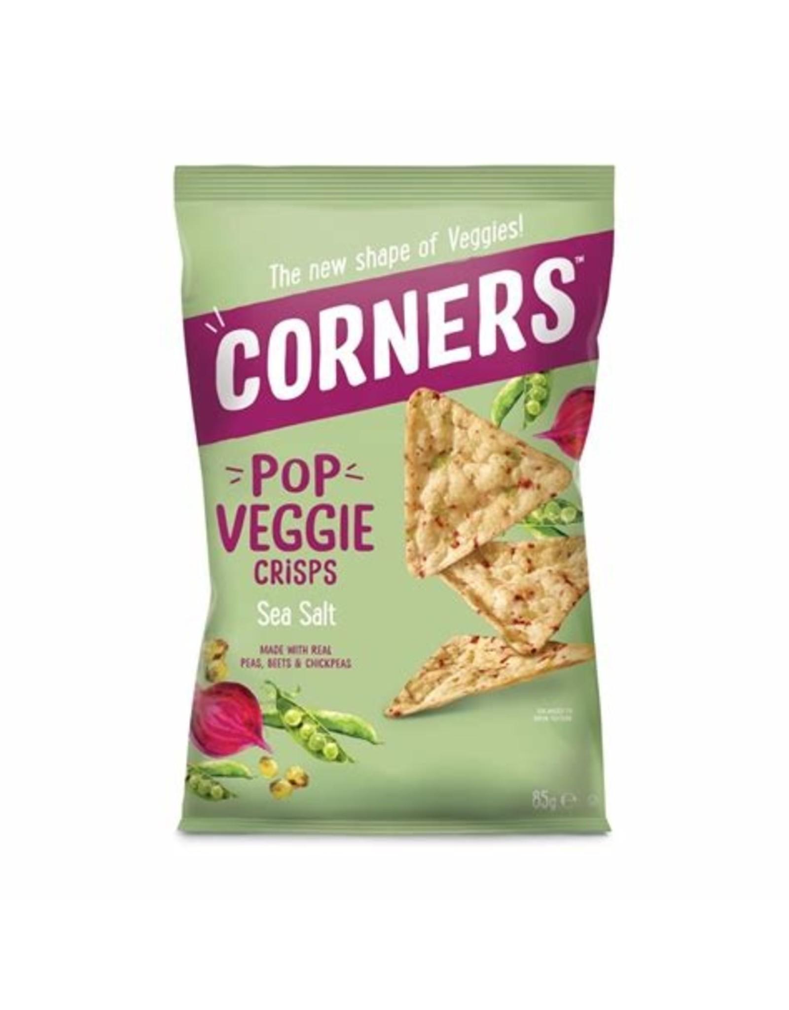Corner Pop Corners Pop Veggie Sea Salt 85g