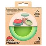 Set of 3 Soft Greens Foodhuggers