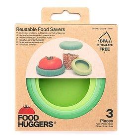 Food Huggers Set of 3 Soft Greens