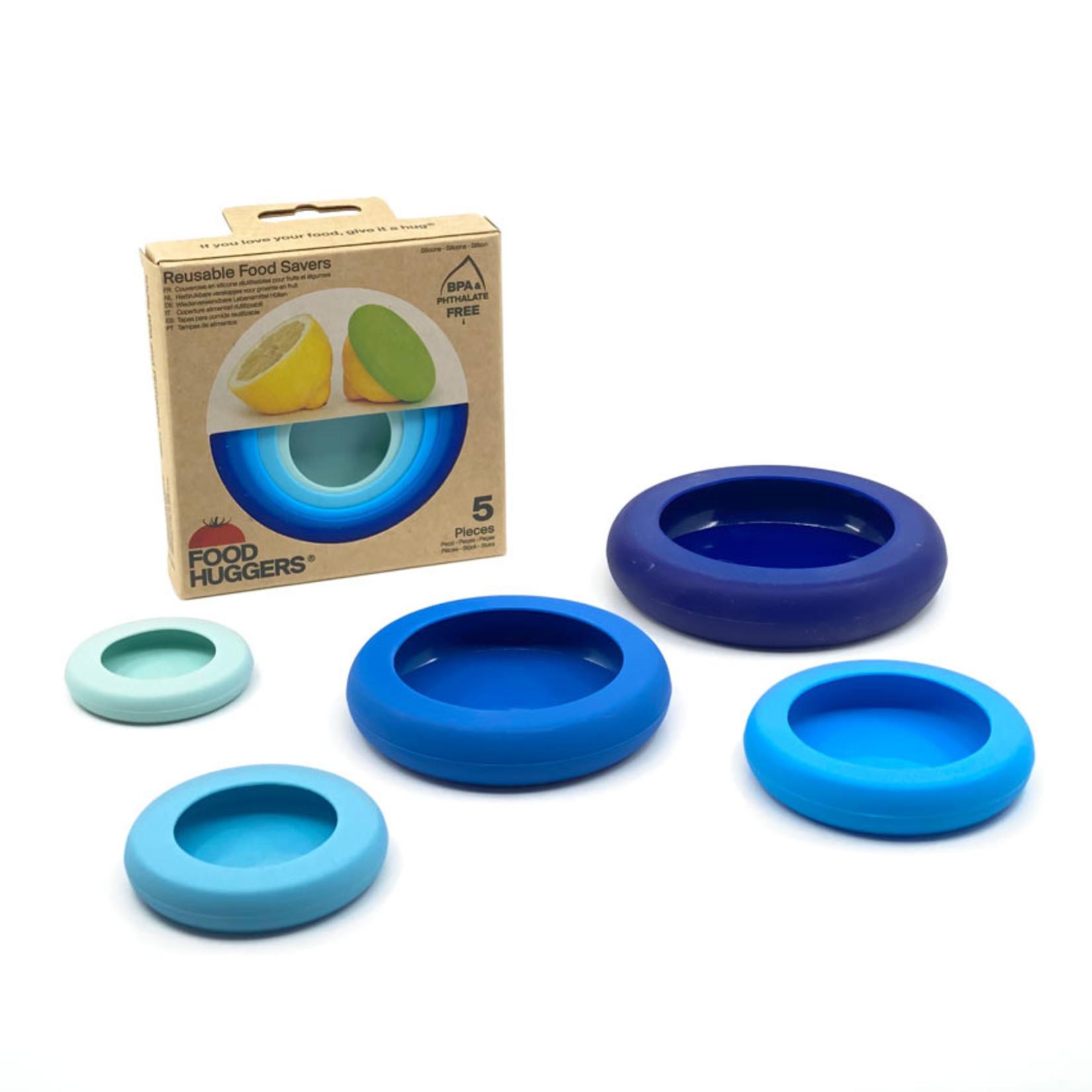 Set van 5 Ice Blue Food Huggers