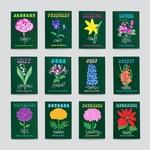 Geboorte bloemkaart