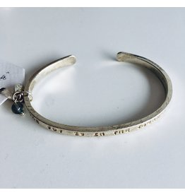A Beautiful Story Puur Labradoriet zilver armband