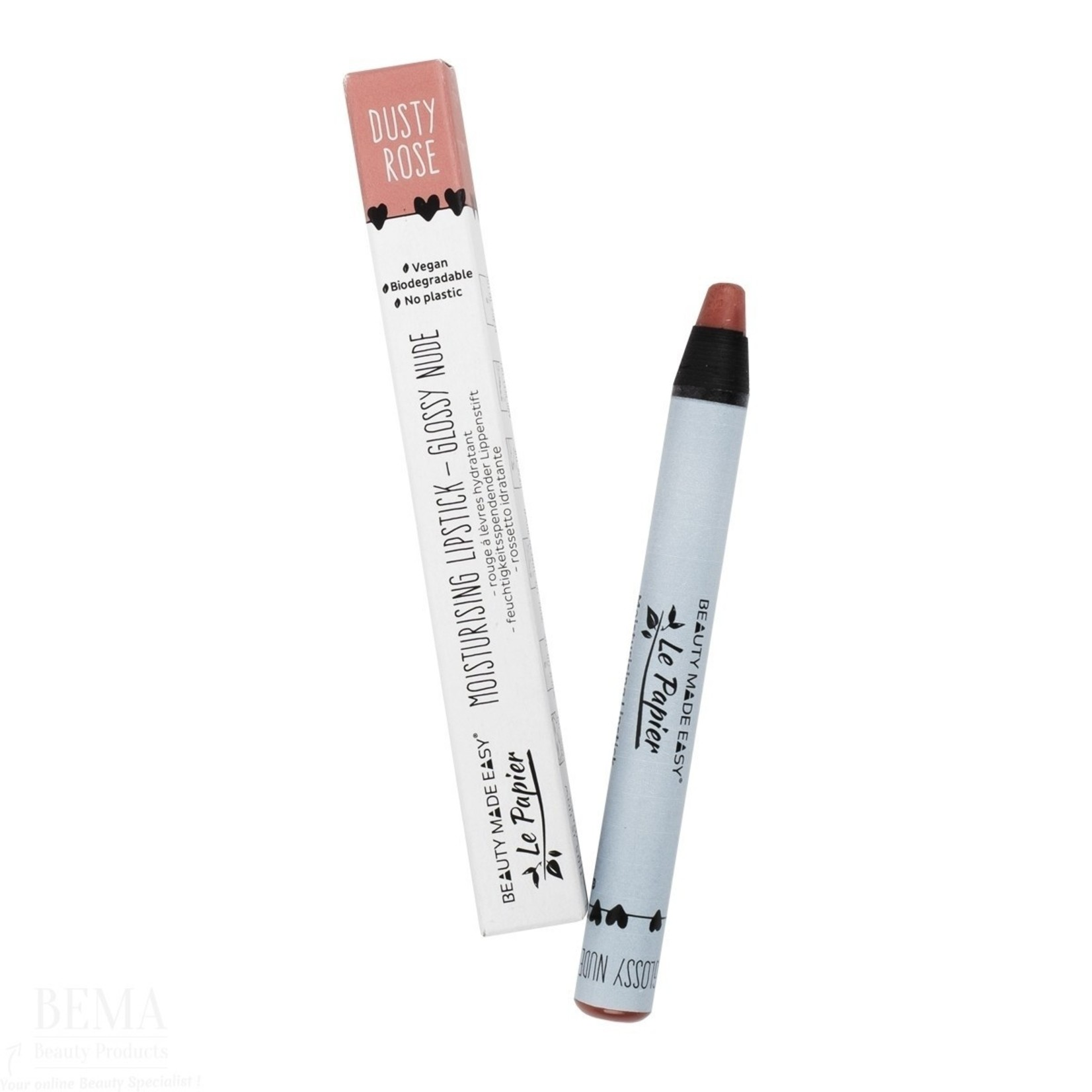 Voedende lipstick - Glossy Nudes - DUSTY ROSE - 6 g