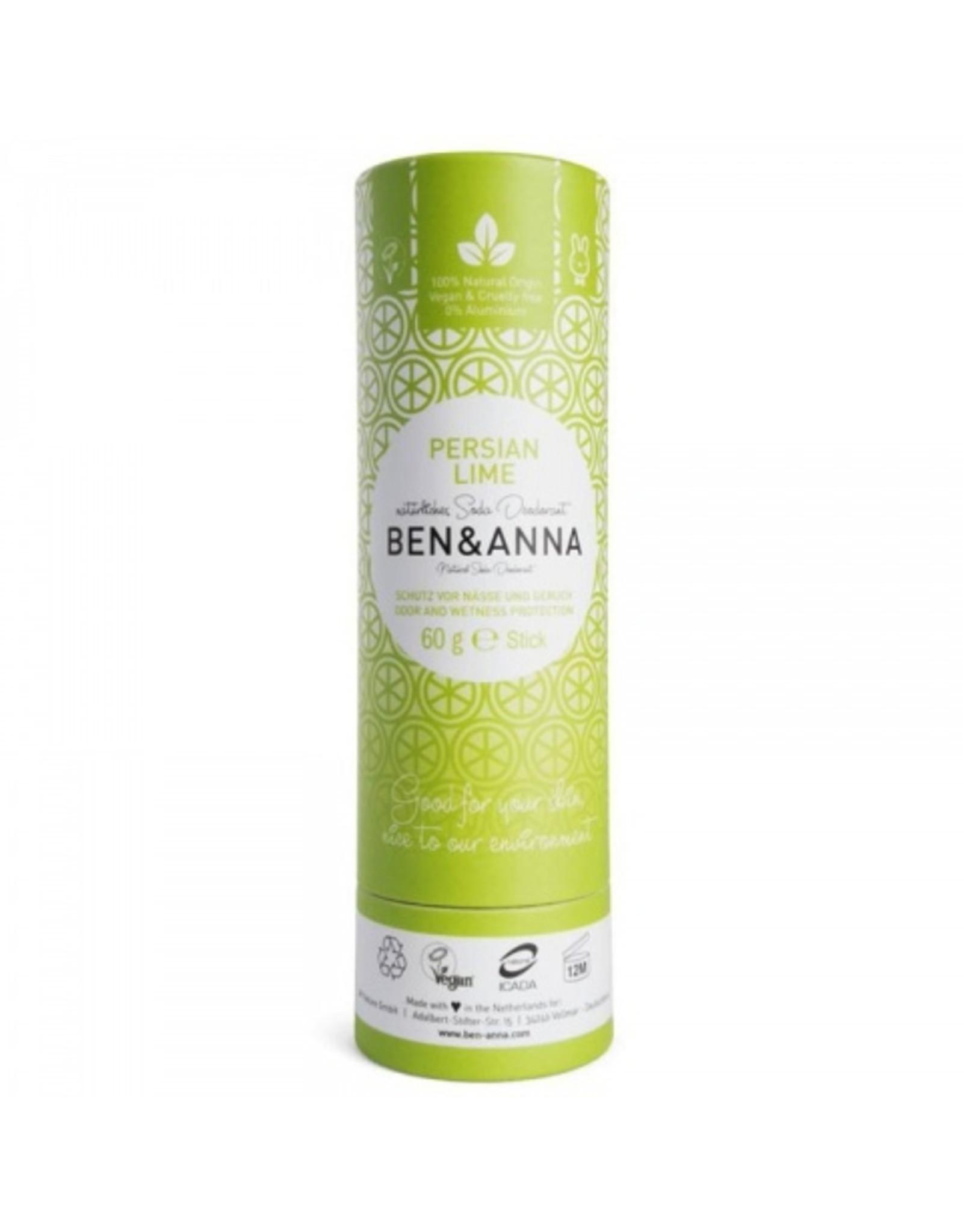 Ben & Anna Push up deo carton Persian Lime