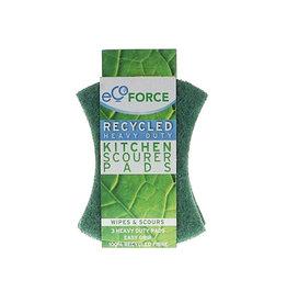 Ecoforce Gerecyclede Schuurlapjes grof (3 stuks)