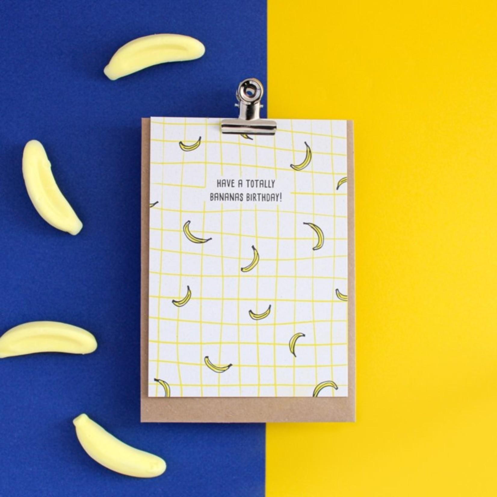 Postkaart - Have a totally bananas birthday