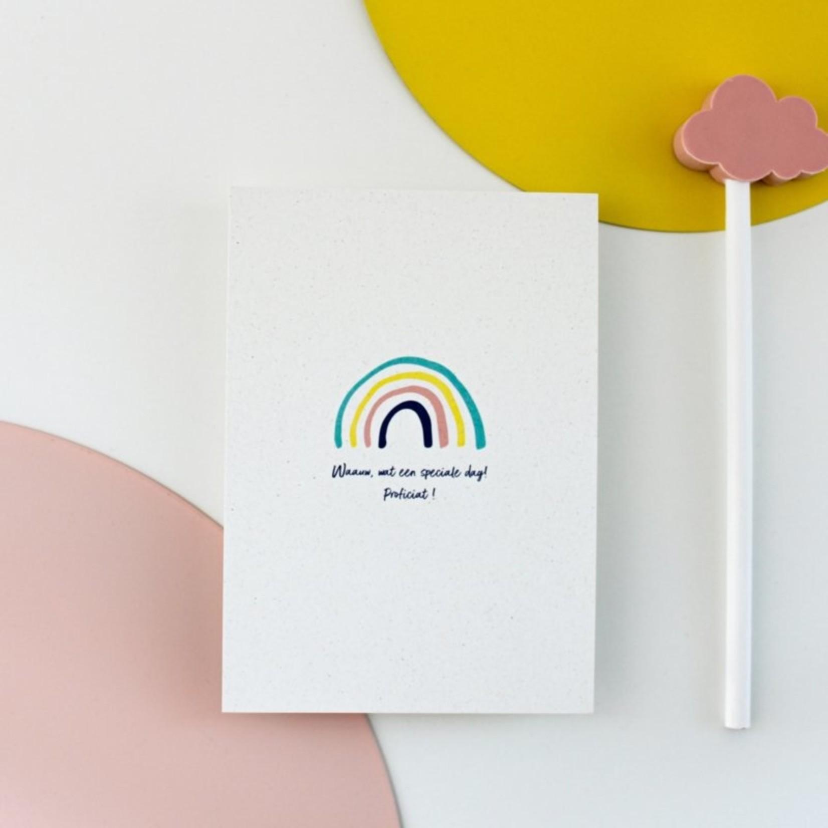 Postkaart - Regenboog