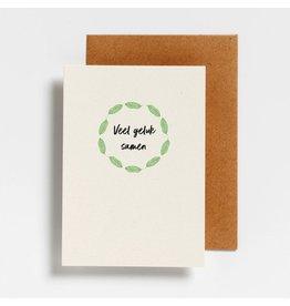 Postkaart - Veel geluk samen