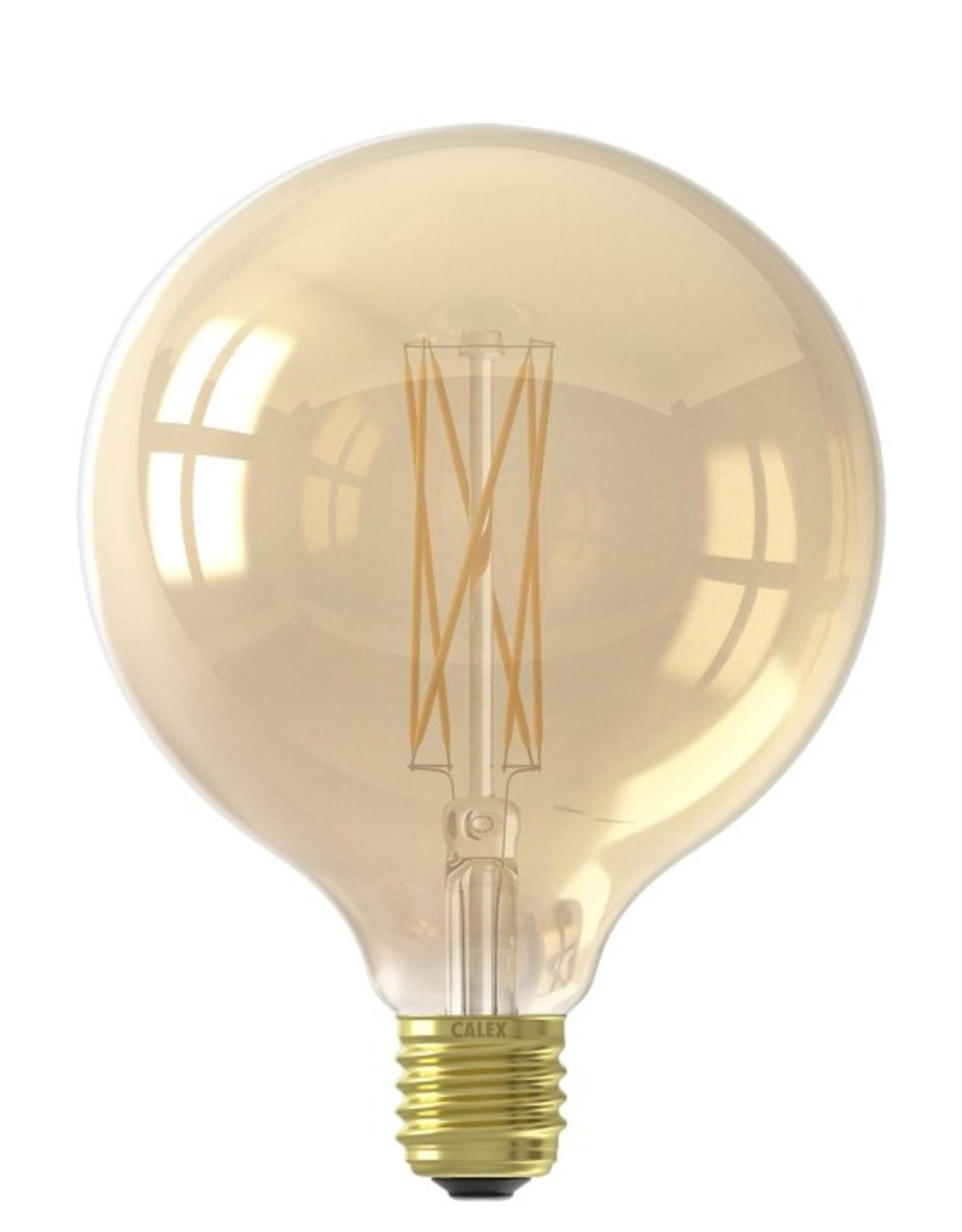 Calex LED 125mm 4W 230V E27 2100K Gold
