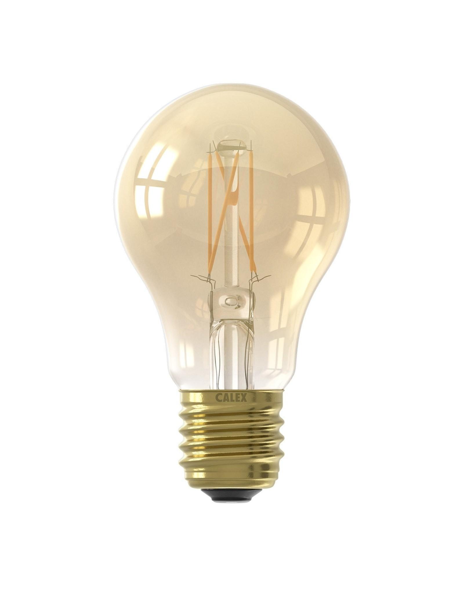 Calex LED A60 4W 230V E27 2100K GOLD