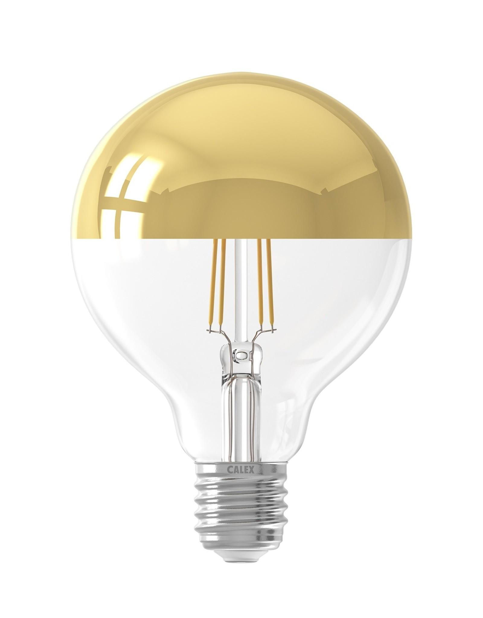 Calex LED kopspiegel 95mm Gold 4W 230V E27 2300K