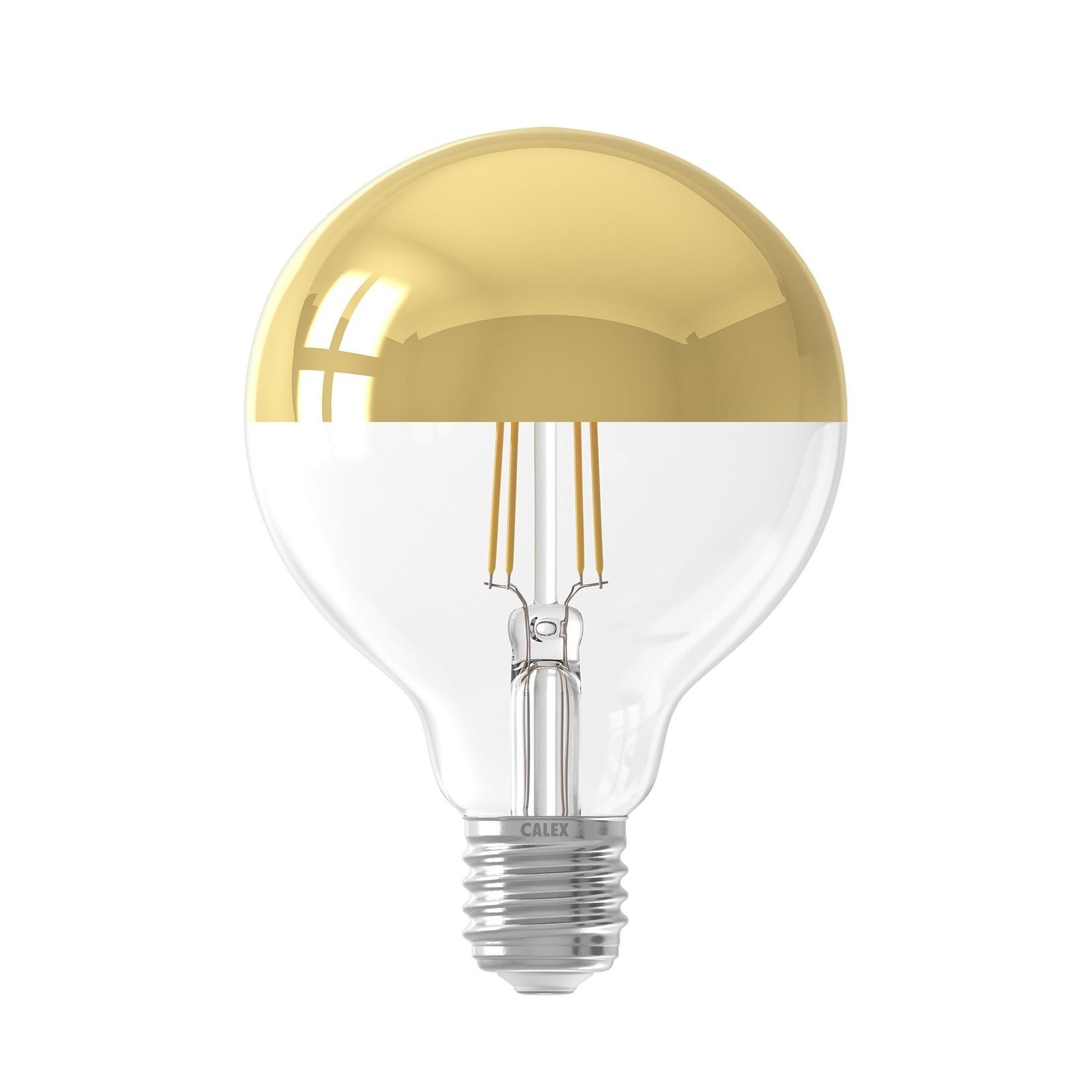 LED kopspiegel 95mm Gold 4W 230V E27 2300K