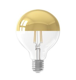 Calex LED kopspiegel 95mm Gold 4W 230V E27 2300K