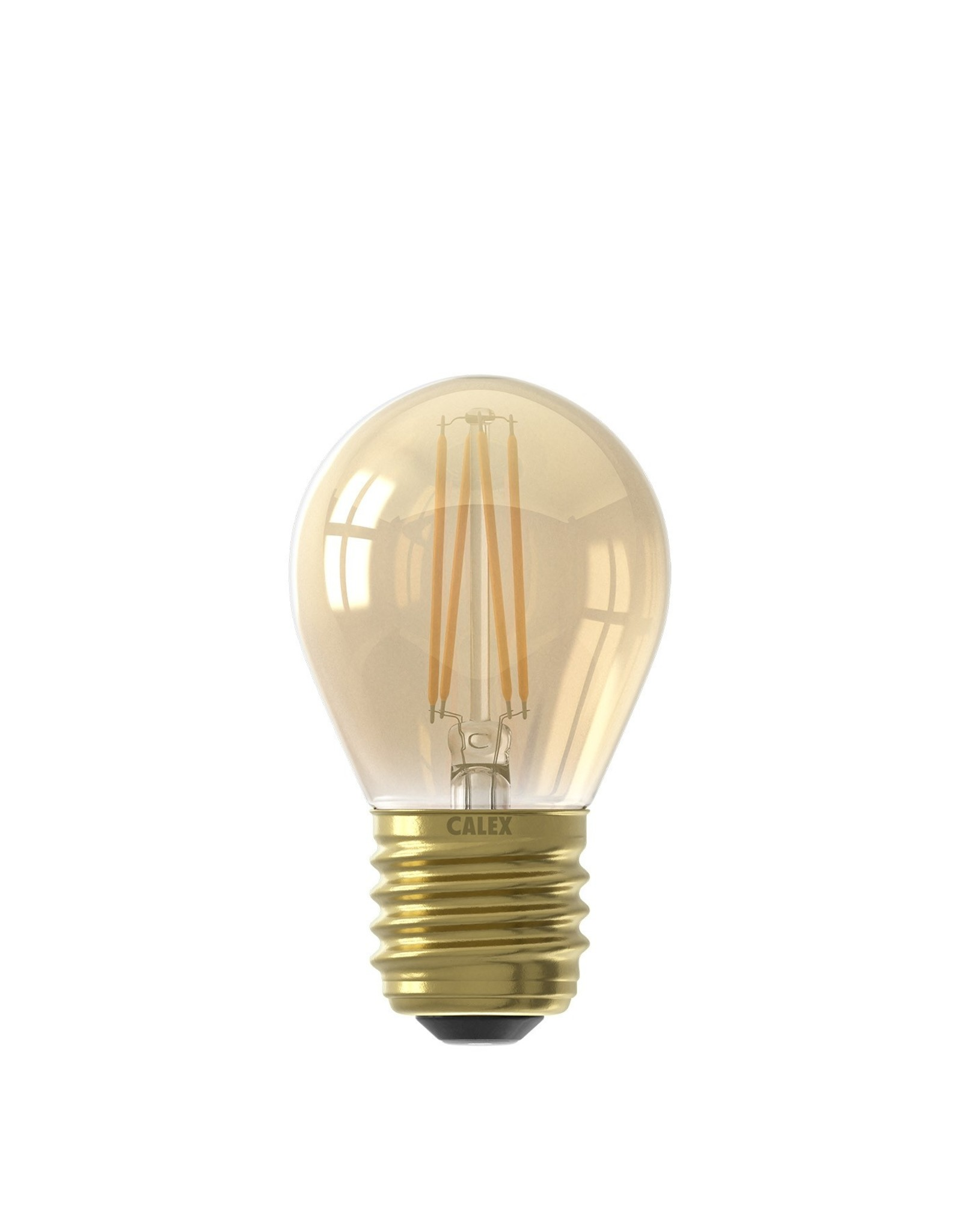 Calex LED kogellamp 35W E27-gold-2100k