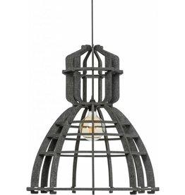 Olaf Weller Industrielamp PET donker grijs vilt