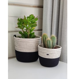 Koba Planter Black & White
