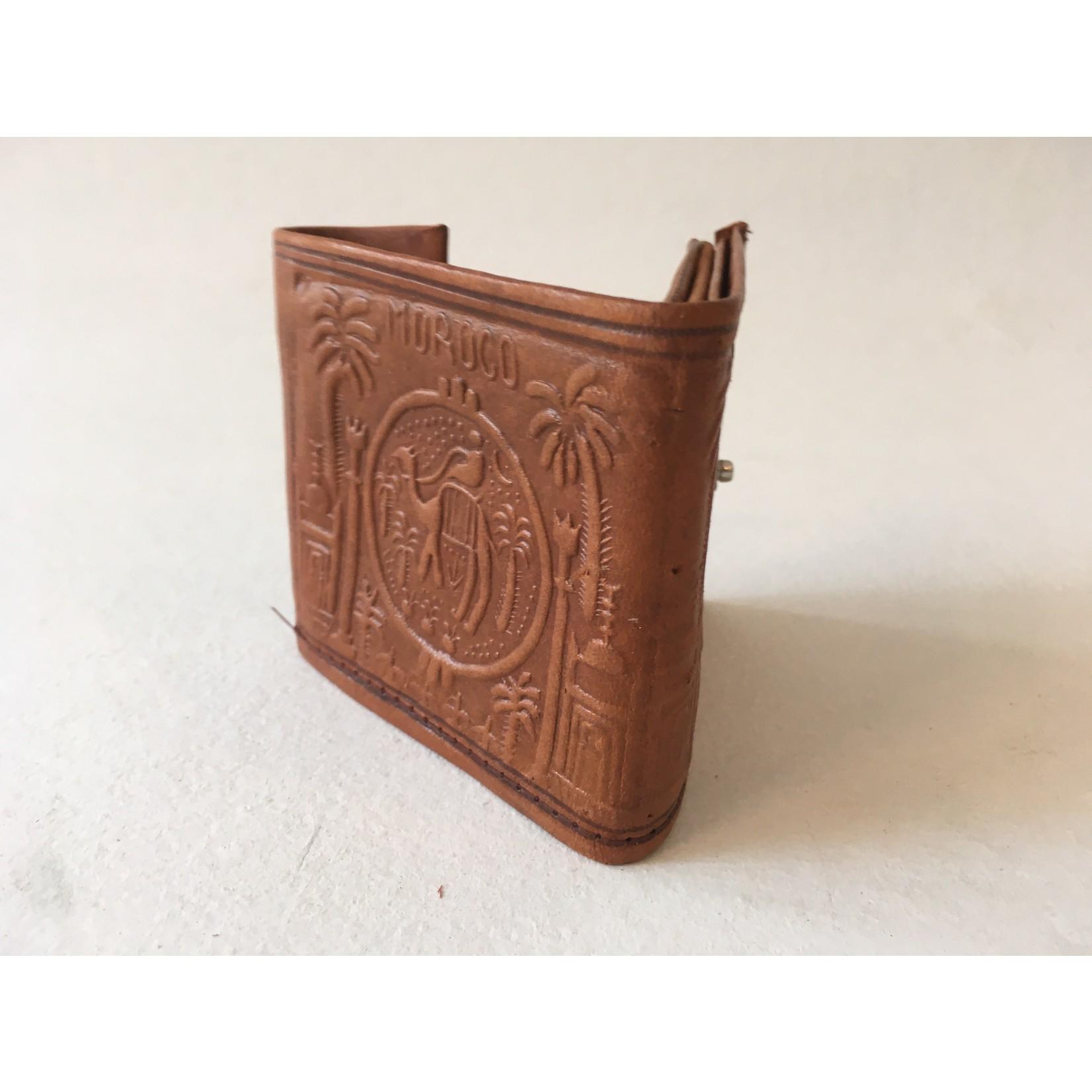 Portefeuille handmade Marokko