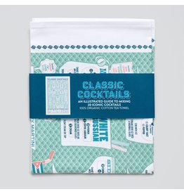 Stuart Gardener Classic Cocktails Tea Towel