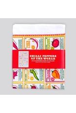 Stuart Gardener Chilli Peppers of the World Tea Towel