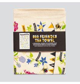 Stuart Gardener Bee Friendly Tea Towel
