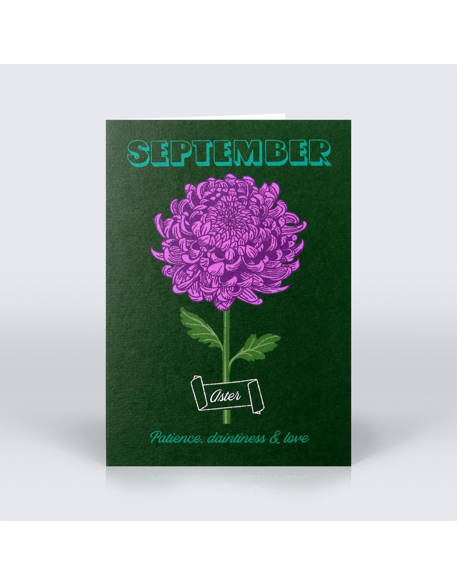 Birth Month Card