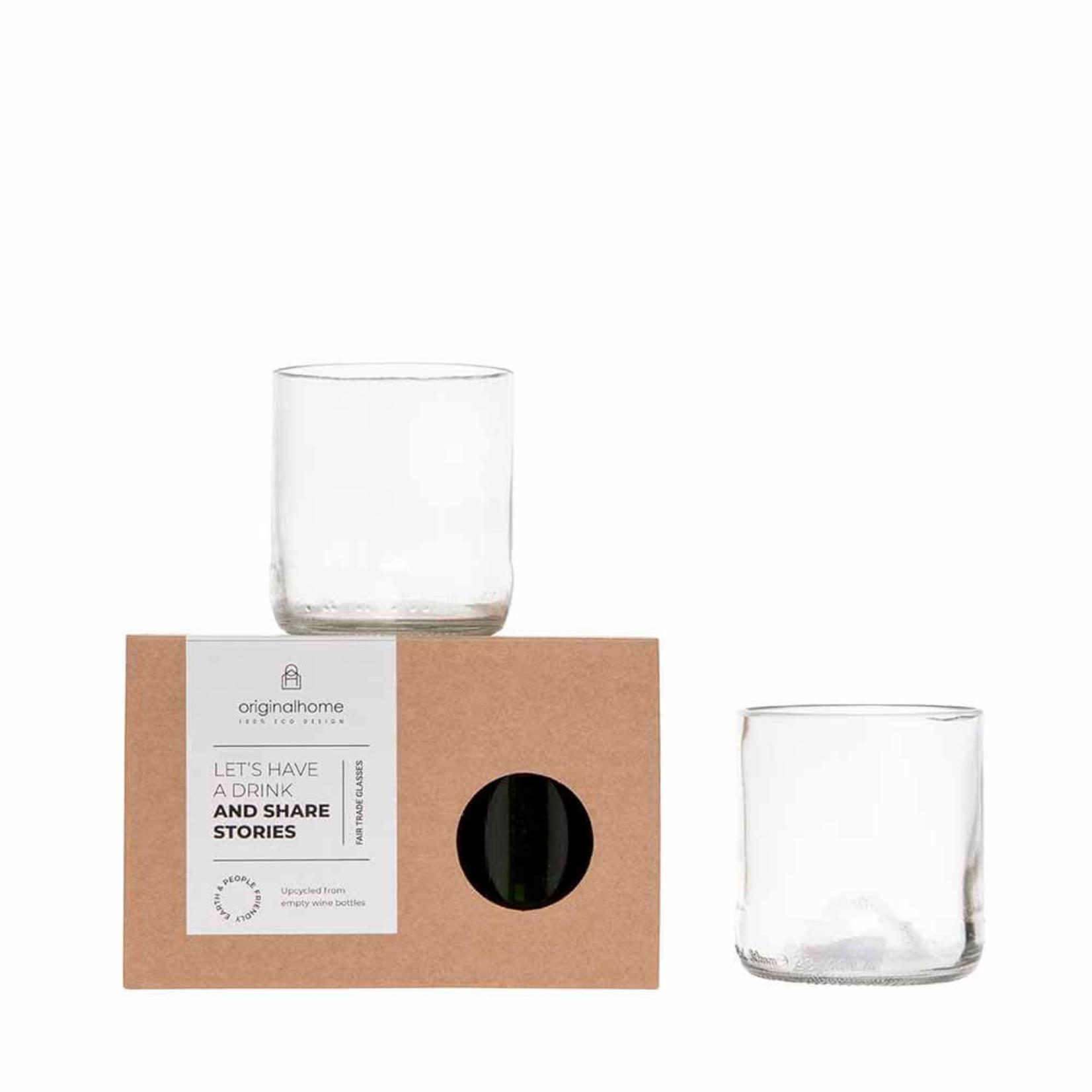 Drinkglas Clear - S set 2