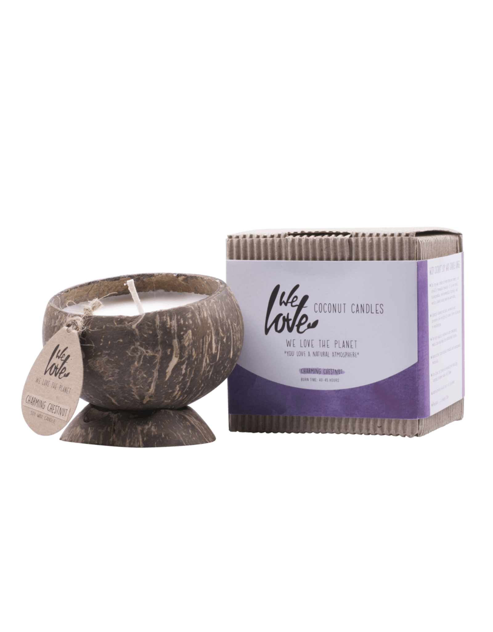 We Love The Planet Coconut soy wax candle