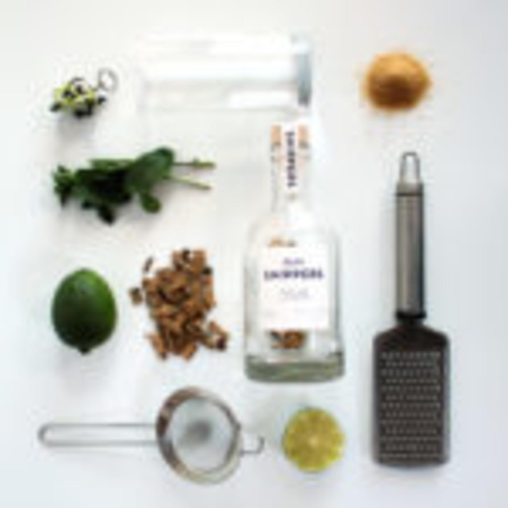 Fles met Rum Snippers