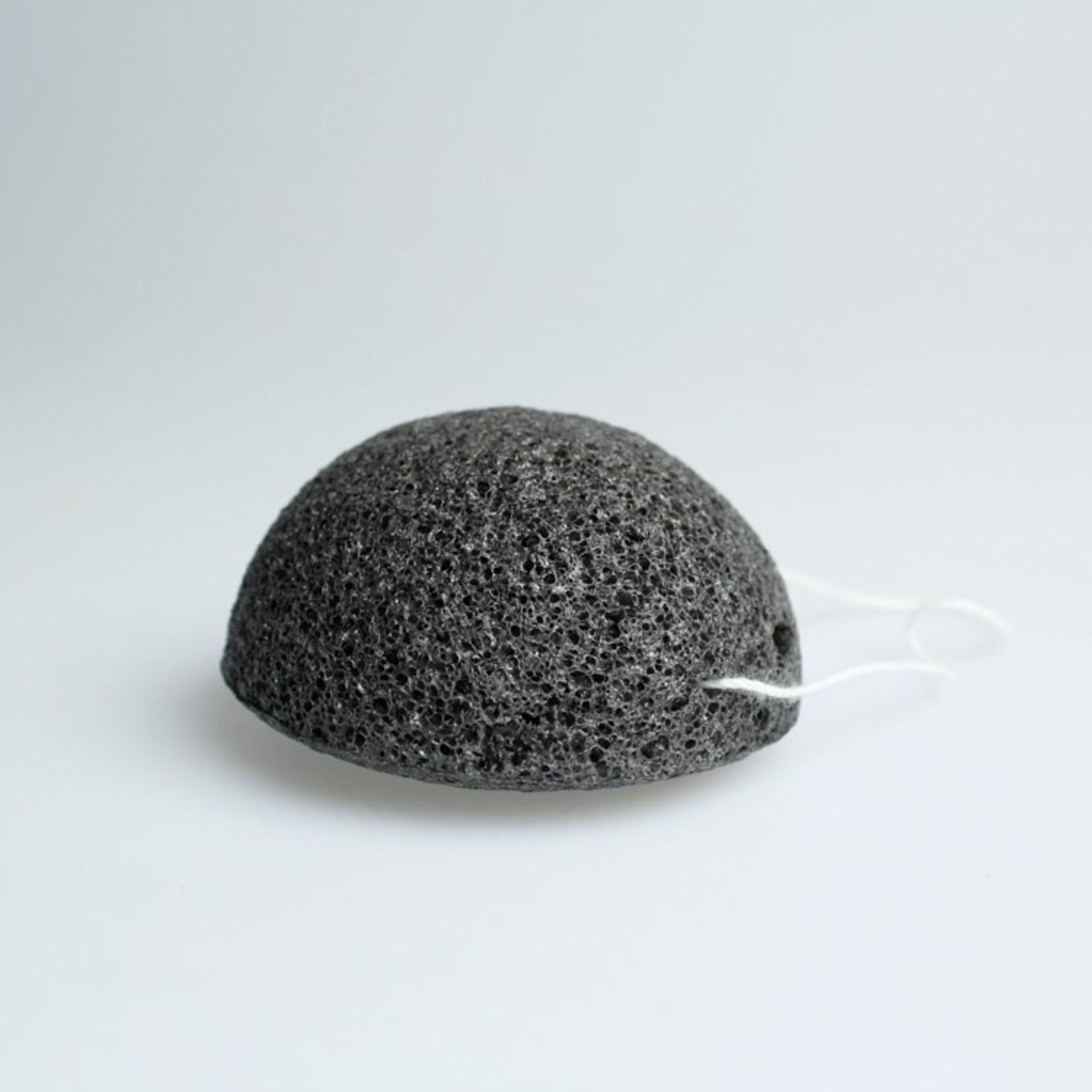 Konjac spons zwart (onzuivere huid)