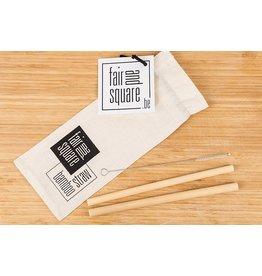 Fair & Square Bamboe rietjes - Date set (2st)