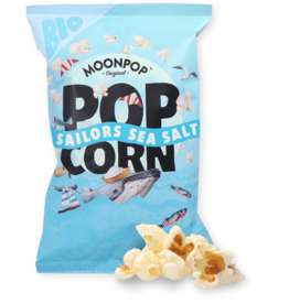 Moonpop Moonpop Sailors Sea  Salt Popcorn