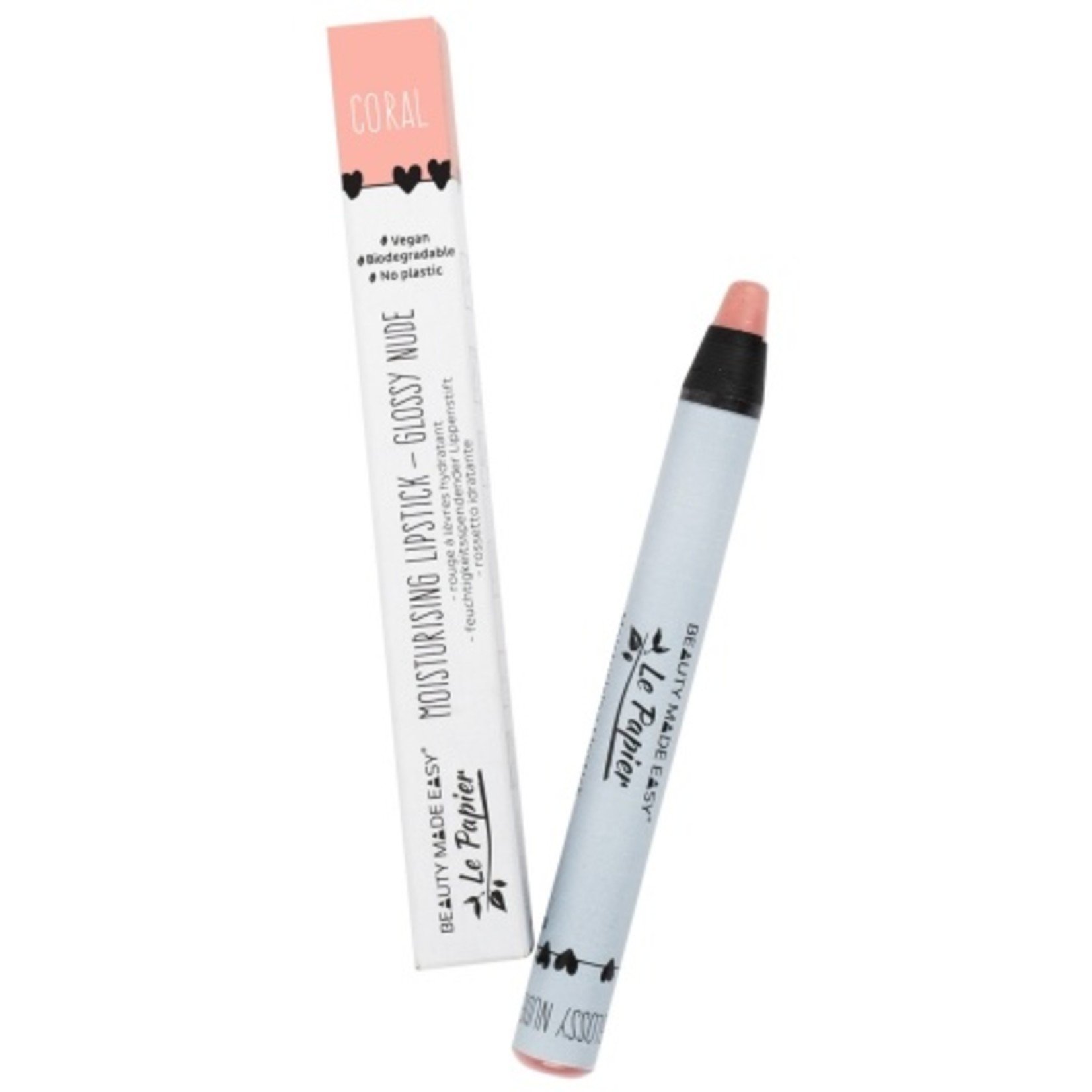 Voedende lipstick - Glossy Nudes - CORAL - 6 g