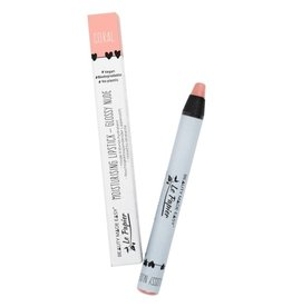 Le papier Voedende lipstick - Glossy Nudes - CORAL - 6 g