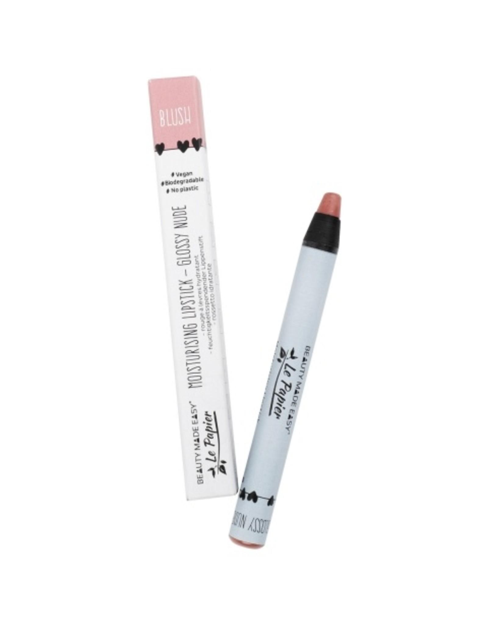 Le papier Moisturizing lipstick - Glossy Nudes - BLUSH - 6 g