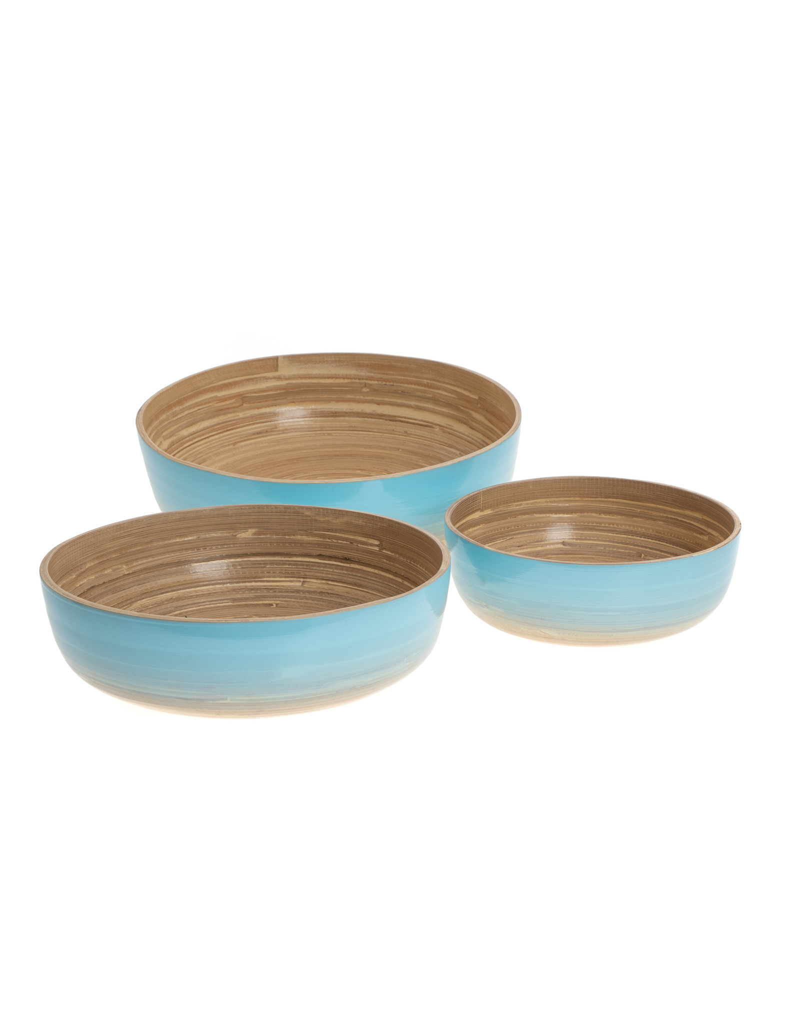 LO tableware Ocean bamboe set (3st)