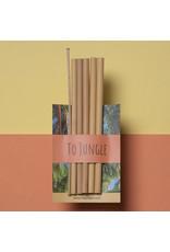 To Jungle Jungle rietjes ( 5 stuks )
