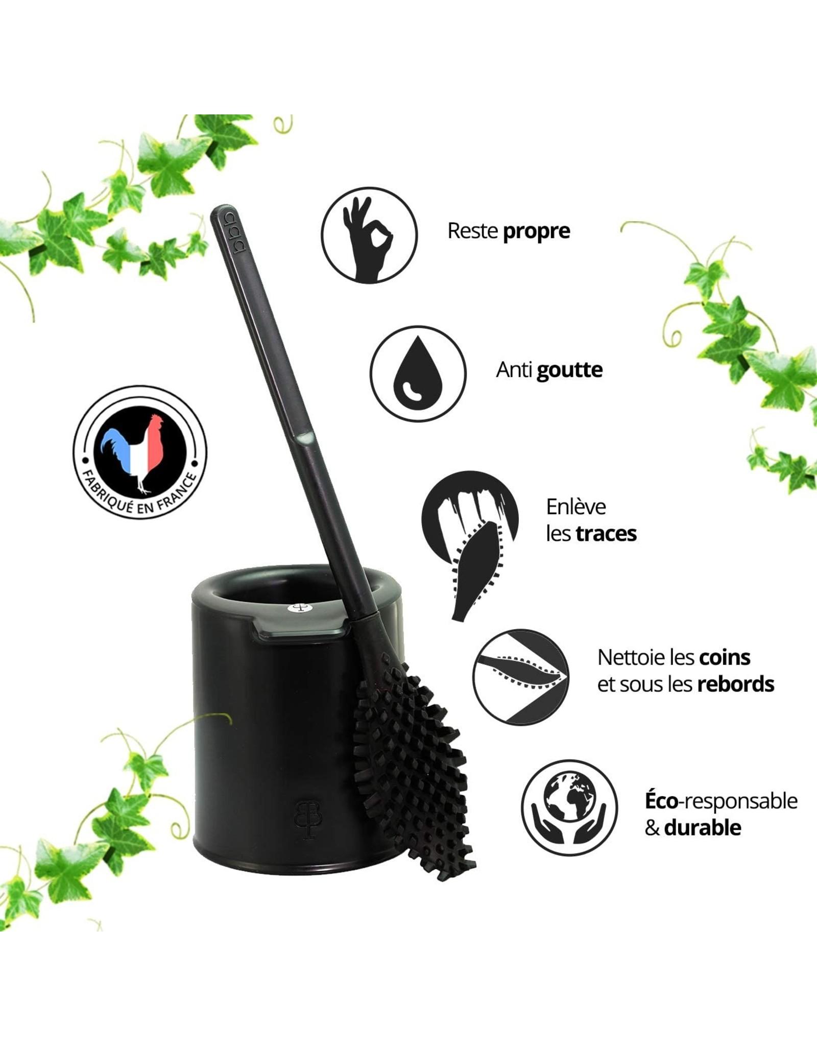 Biom Paris Toiletborstel bbb La Brosse muisgrijs