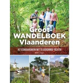 Uitgeverij Lannoo Grote Wandelboek Vlaanderen