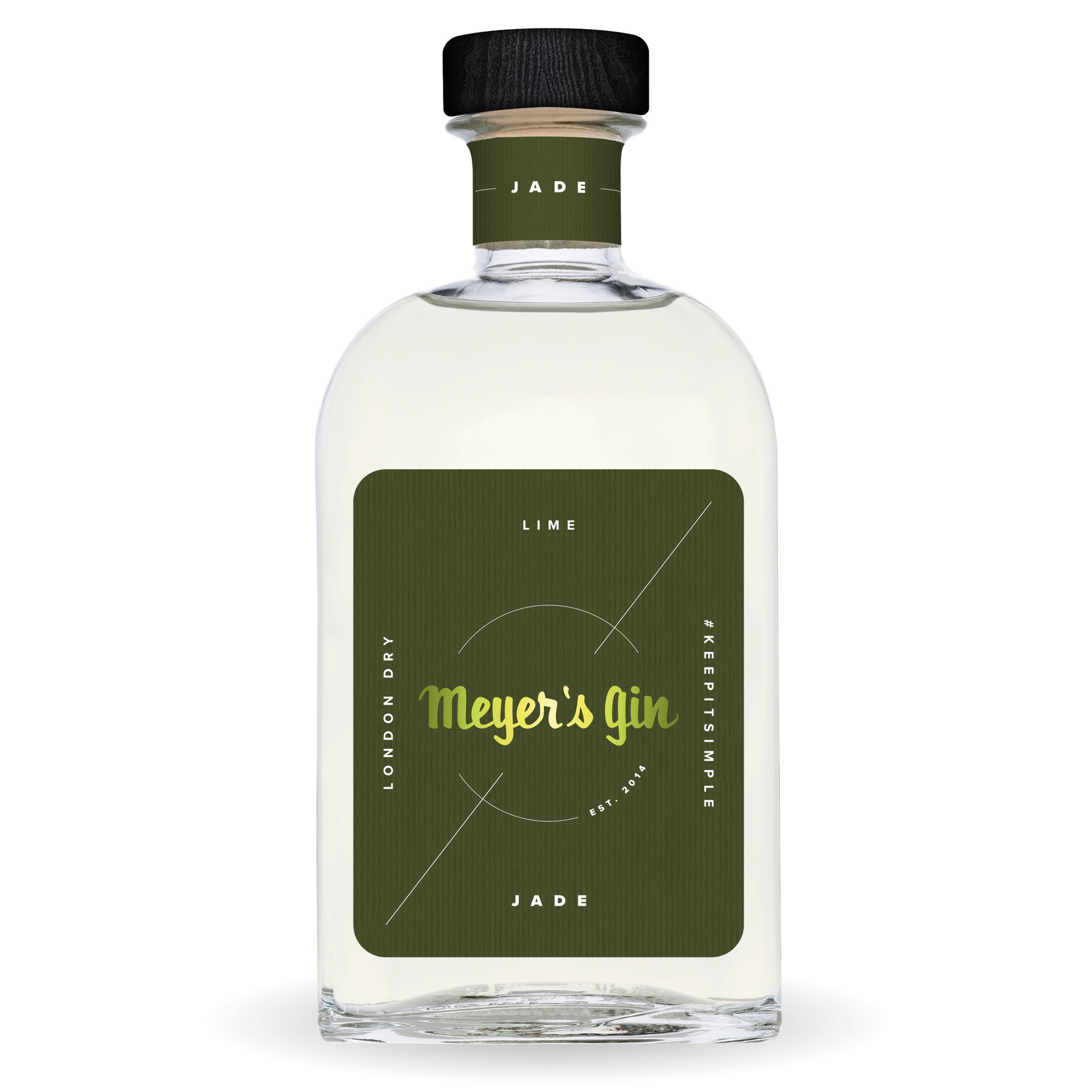Meyer's ging jade 38% 50 cl