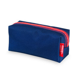 Engelpunt Etui 'Zipper Dark Blue'