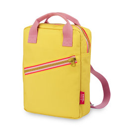 Engelpunt Rugzak small 'Zipper Yellow'