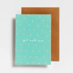 Postkaart - Get well soon