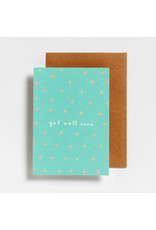Hello August Postkaart - Get well soon